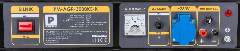 AGREGAT PRĄDOTWÓRCZY GENERATOR 3000W 12V 230V AVR