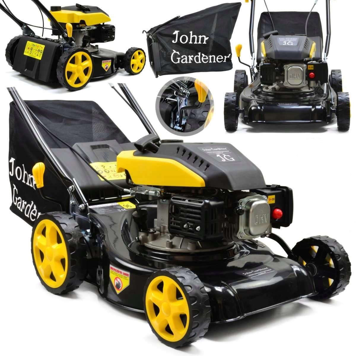 John Gardener KOSIARKA SPALINOWA Z NAPĘDEM 6KM model 2020
