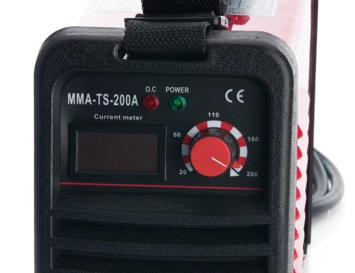 SPAWARKA INWERTOROWA 200A EUROTEC INWERTER LCD