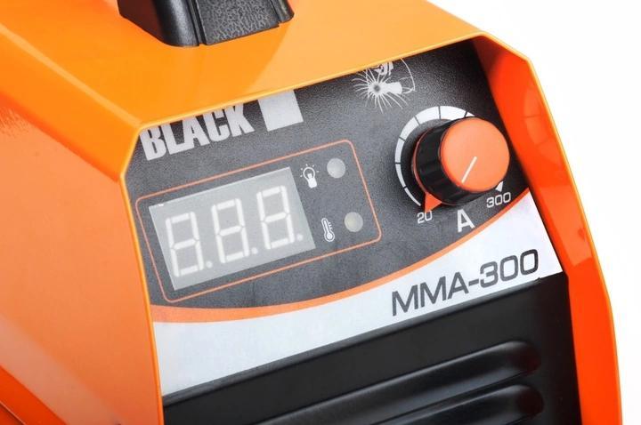 SPAWARKA INWERTOROWA 300A INWERTER BLACK LCD