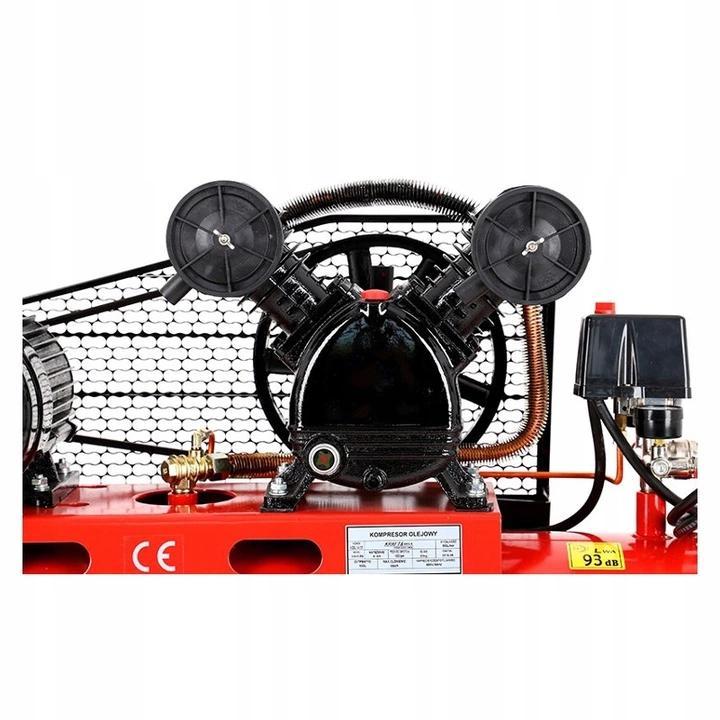 Kompresor Sprężarka Olejowy 150L 400V 2tłoki KD406