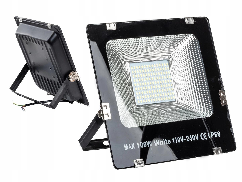 HALOGEN LAMPA LED 100W SMD NAŚWIETLACZ SLIM