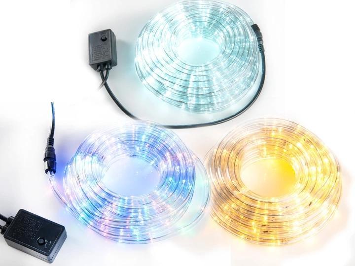 LAMPKI CHOINKOWE WĄŻ ŚWIETLNY 10M LED RÓŻNE