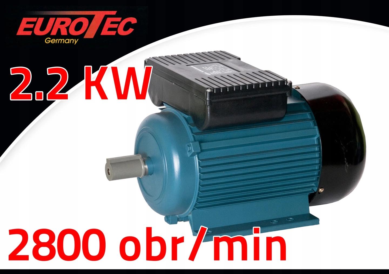SILNIK ELEKTRYCZNY 2,2KW 2800R/MIN EUROTEC AT122