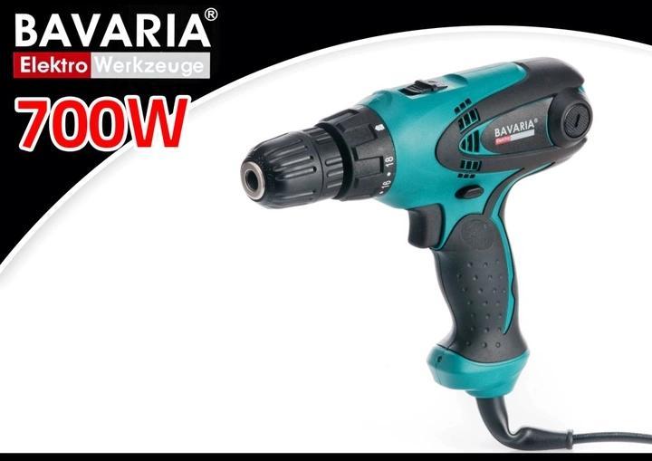 WKRĘTARKA SIECIOWA BAVARIA 2 BIEGI 10mm 700W!