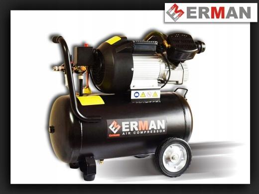 Kompresor tłokowy Erman model EM3050V