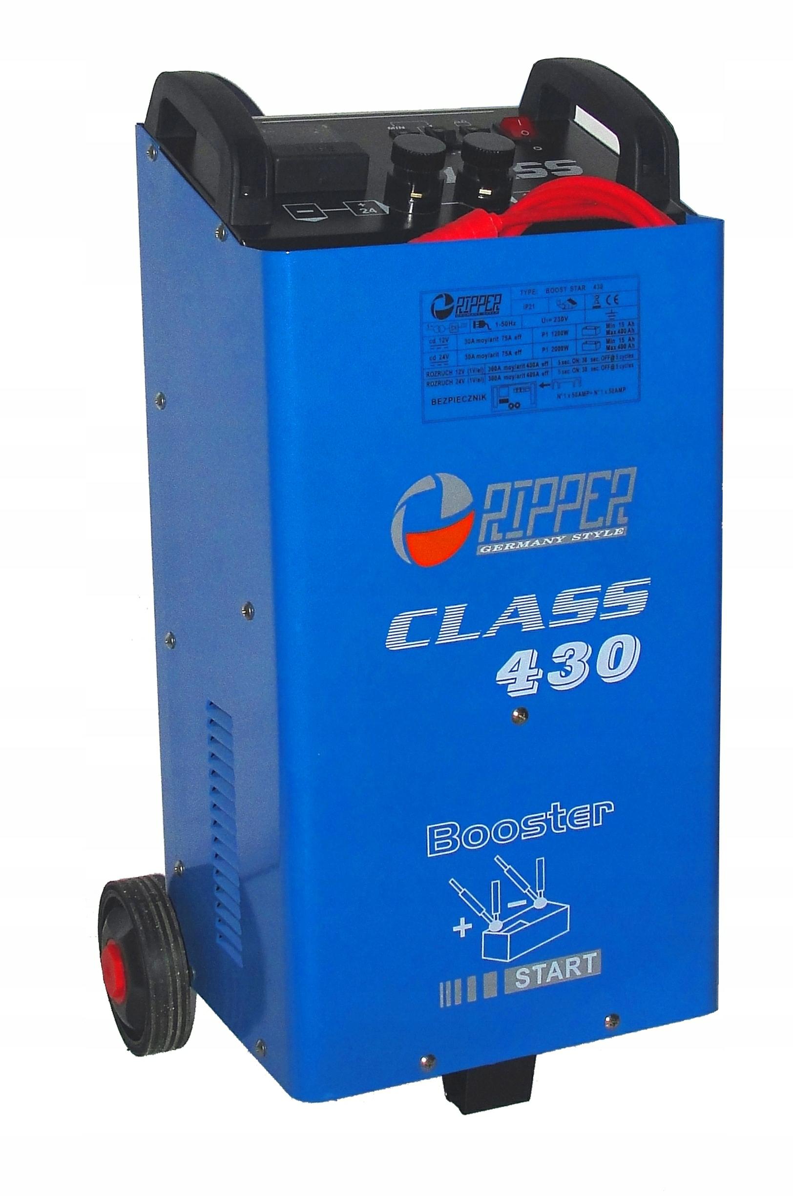 ROZRUCH - PROSTOWNIK CLASS 430 400A RIPPER 12/24V